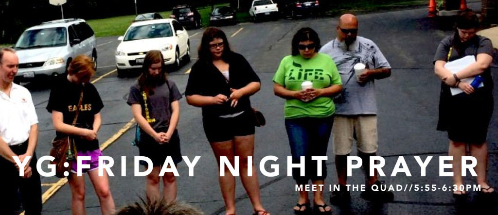 Teens are Praying on Friday Nights