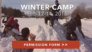 Mythbusters: Winter Camp (Feb 12-14 2016)